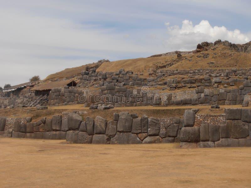 Sacsayhuaman, Cusco, Perú foto de archivo