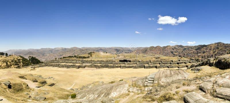 Sacsayhuaman, Cuzco, Pérou images libres de droits