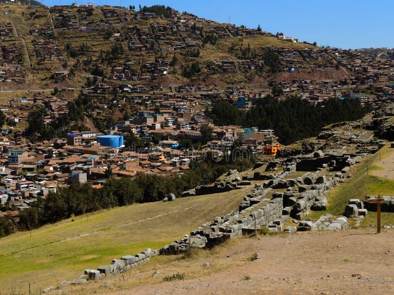 Download Sacsayhuaman Dans Cusco, Pérou Image stock - Image du ville, latin: 77152547