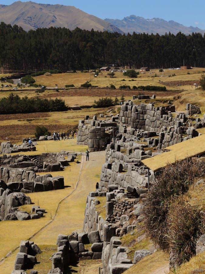 Download Sacsayhuaman Dans Cusco, Pérou Image stock éditorial - Image du andes, forteresse: 77154574