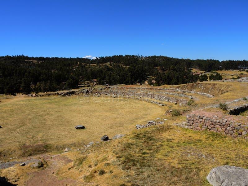 Download Sacsayhuaman Dans Cusco, Pérou Image stock - Image du andes, horizontaux: 77156957
