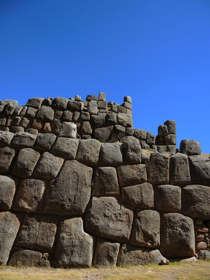 Sacsayhuaman i Cusco, Peru arkivfoto