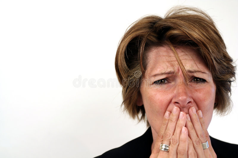 So sad! stock photo