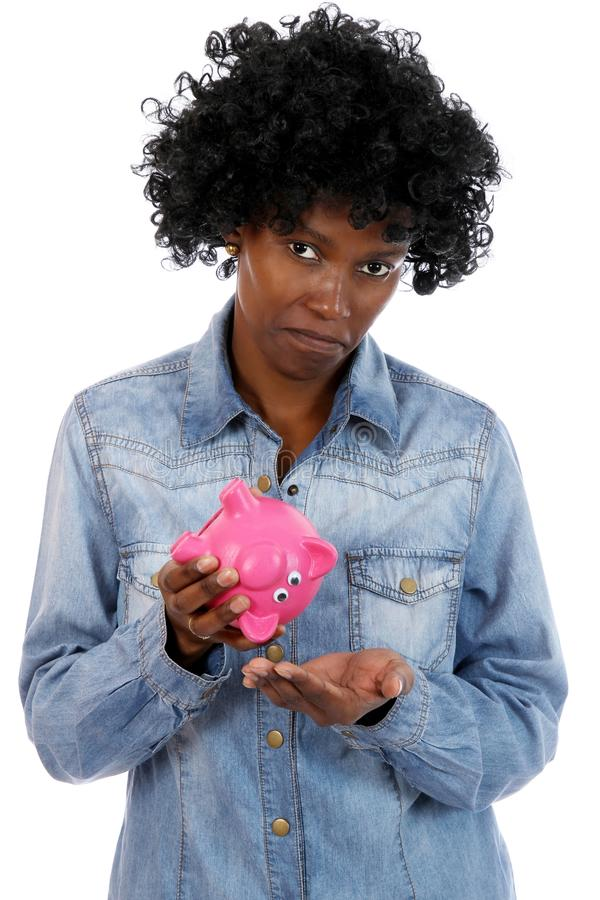 Download Sad African Lady With No Money Stock Photo - Image: 22331180