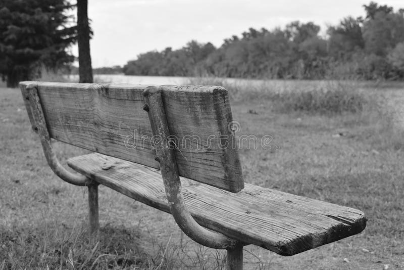 Sad bench royalty free stock images