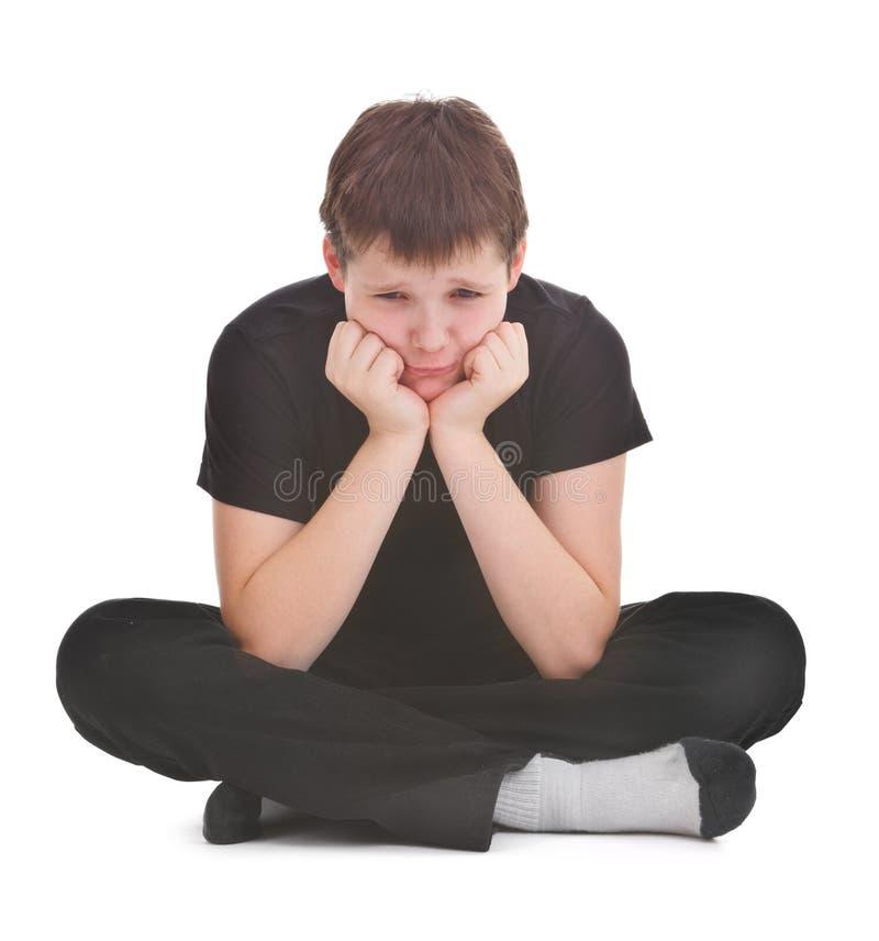 Download Sad boy stock image. Image of despair, unhappy, studio - 23046315
