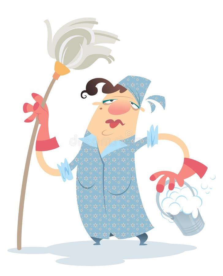 такая смешные картинки уборщица со шваброй значит машине есть
