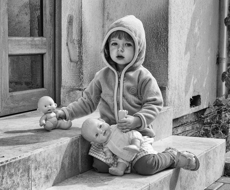 Download Sad Child stock image. Image of left, child, baby, grey - 21825621