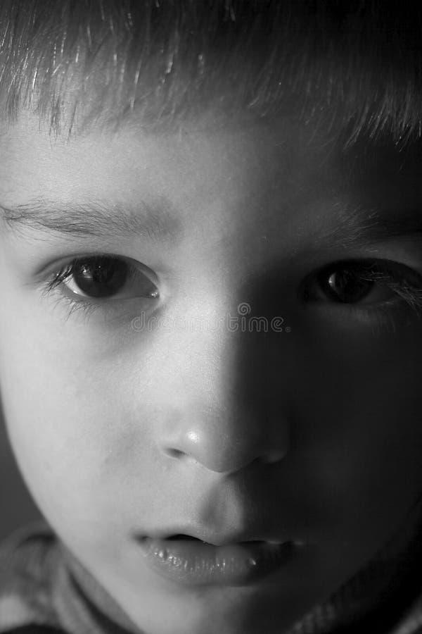Sad_child images libres de droits