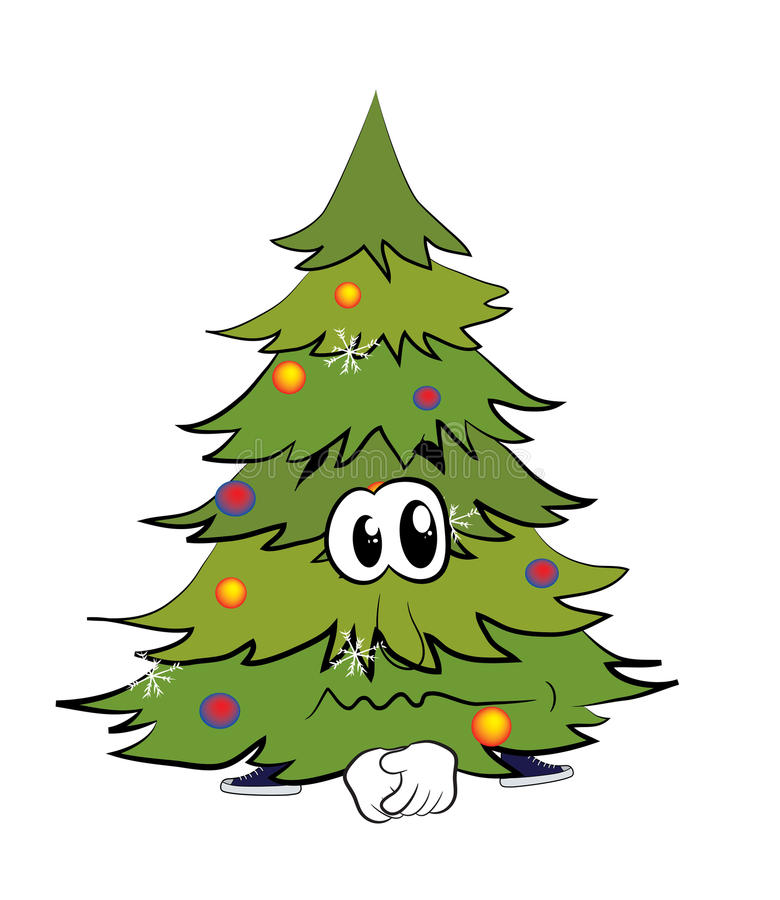 12+ Christmas Tree Cartoon Free