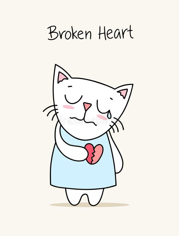 Crying Kitty Tee