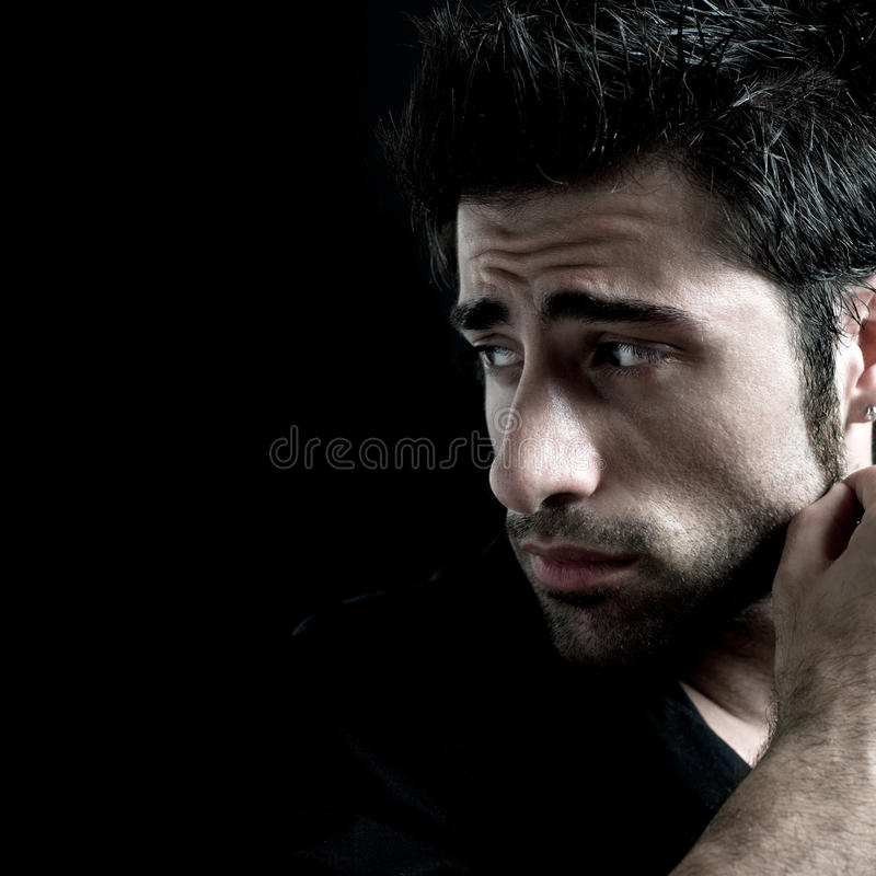 Download Sad and depressed stock photo. Image of worried, depression - 10598590