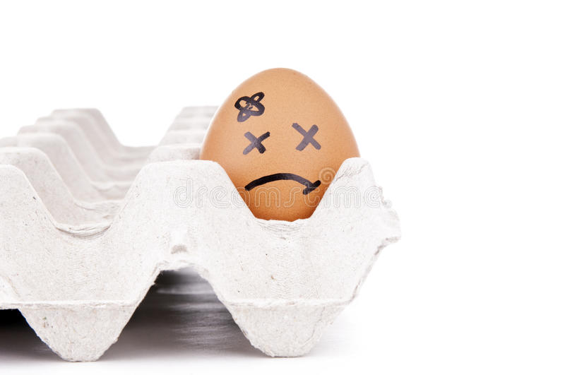 Download Sad Egg Characters stock illustration. Image of exaggerated - 28908158