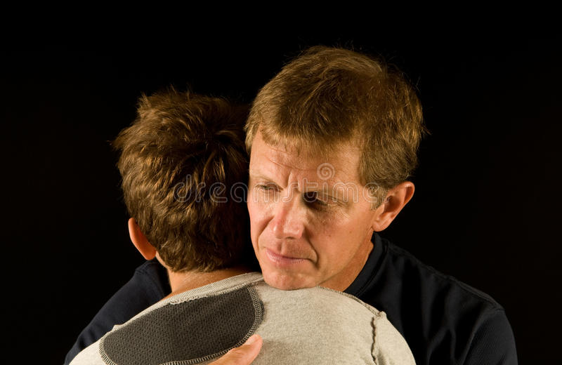 Download Sad embrace stock image. Image of family, consoling, parent - 12177045