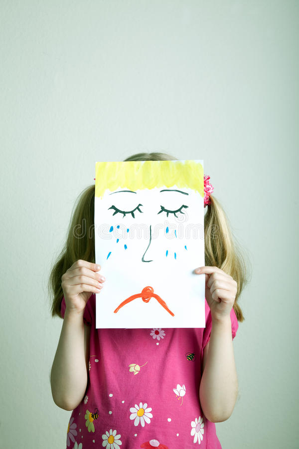 Sad Face Royalty Free Stock Photo