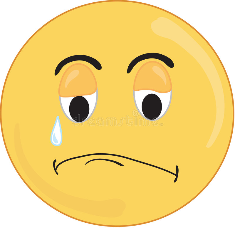Free Sad Face Royalty Free Stock Image - 343186