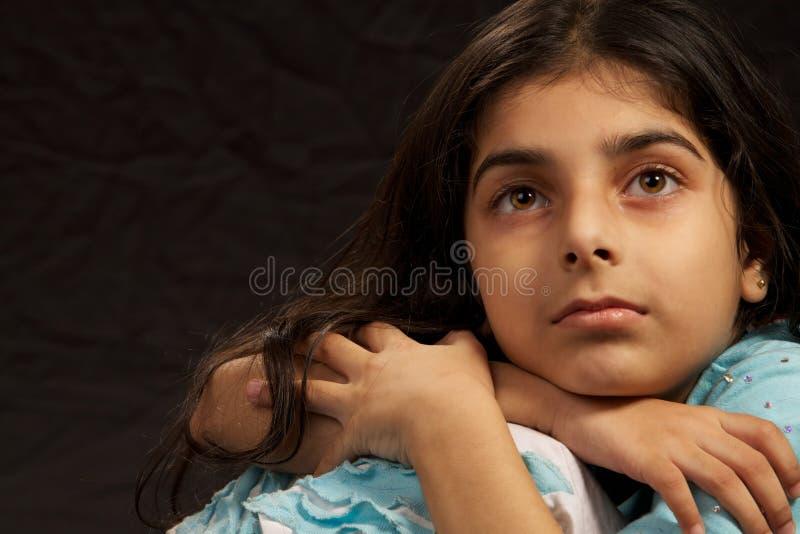 Download Sad Girl stock image. Image of mirror, behaviour, female - 15799419