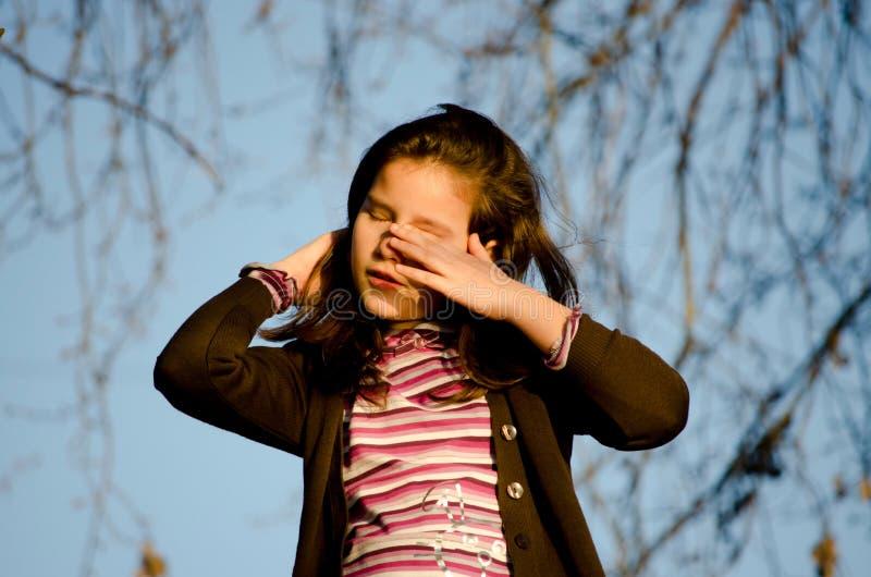 Download Sad girl stock photo. Image of children, beautiful, brunette - 24053724