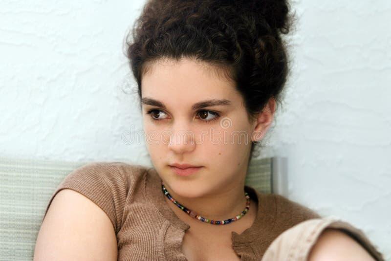 Sad girl royalty free stock photos