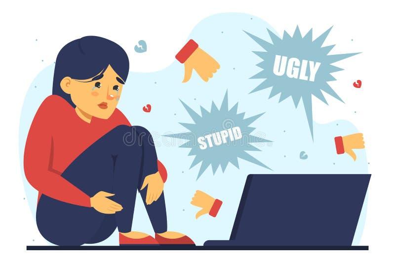Cyberbullying Stock Illustrations - 841 Cyberbullying ...