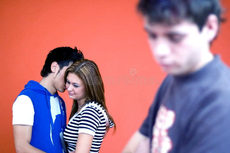 Download Sad Guy stock image. Image of rejection, boys, three, embracing - 1959109