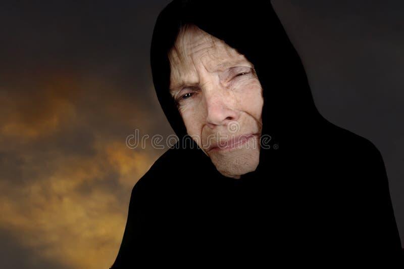SAD kvinna royaltyfria bilder