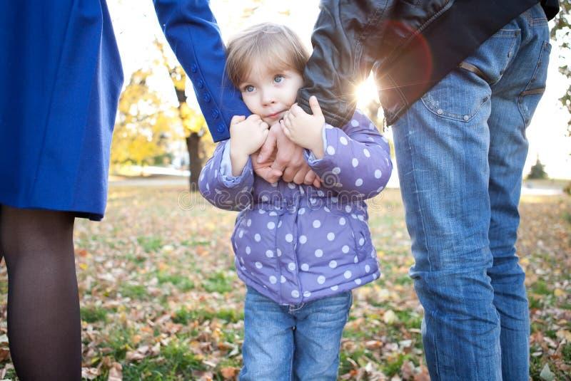 Download Sad little girl stock image. Image of offspring, melancholy - 12361777