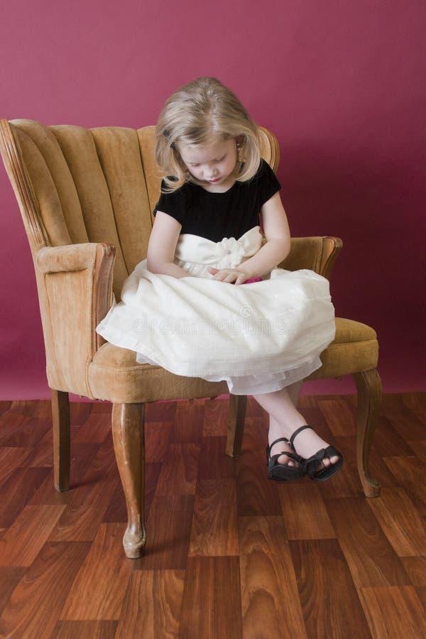 Free Sad Little Girl Stock Photography - 17370972