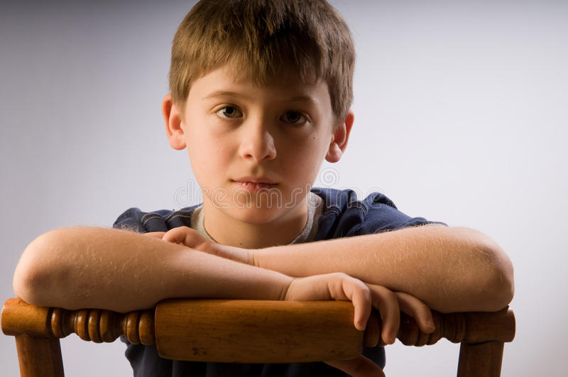 Download Sad little kid stock image. Image of gloomy, folded, unhappy - 17649943
