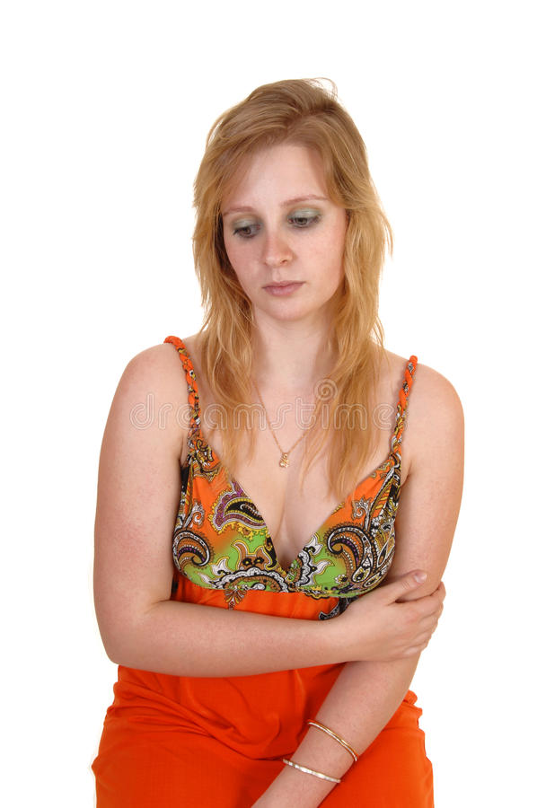 Download A Sad Looking Teen Girl. Stock Photography - Image: 22038362