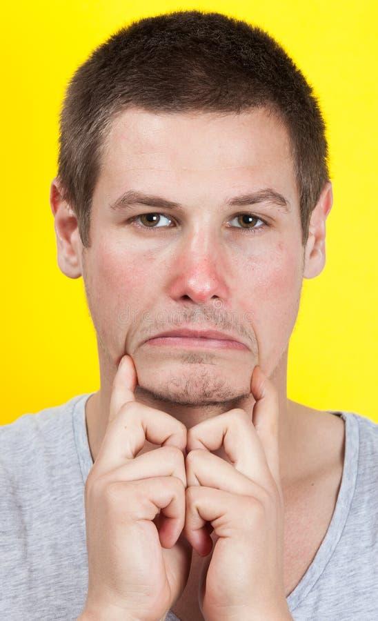 Download Sad man stock photo. Image of despair, pain, inadequate - 27940092