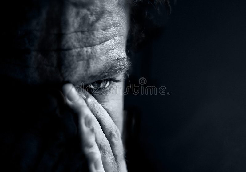 Download Sad men stock photo. Image of loneliness, expressing, hand - 9045508