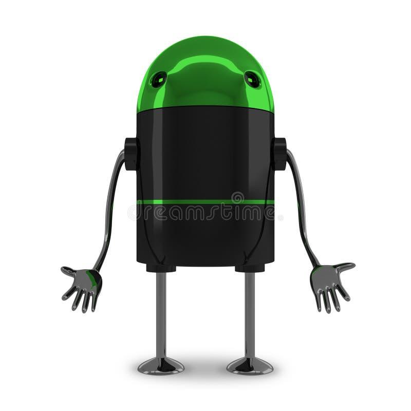 Free Sad Robot Royalty Free Stock Photo - 52222785