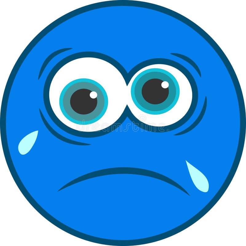 Sad Smiley Icon vector illustration