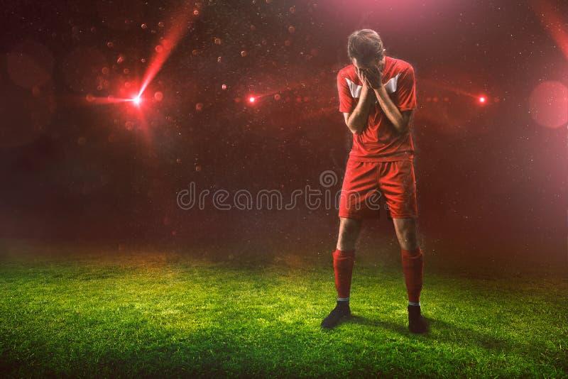 Sad Sportsman fotografia stock