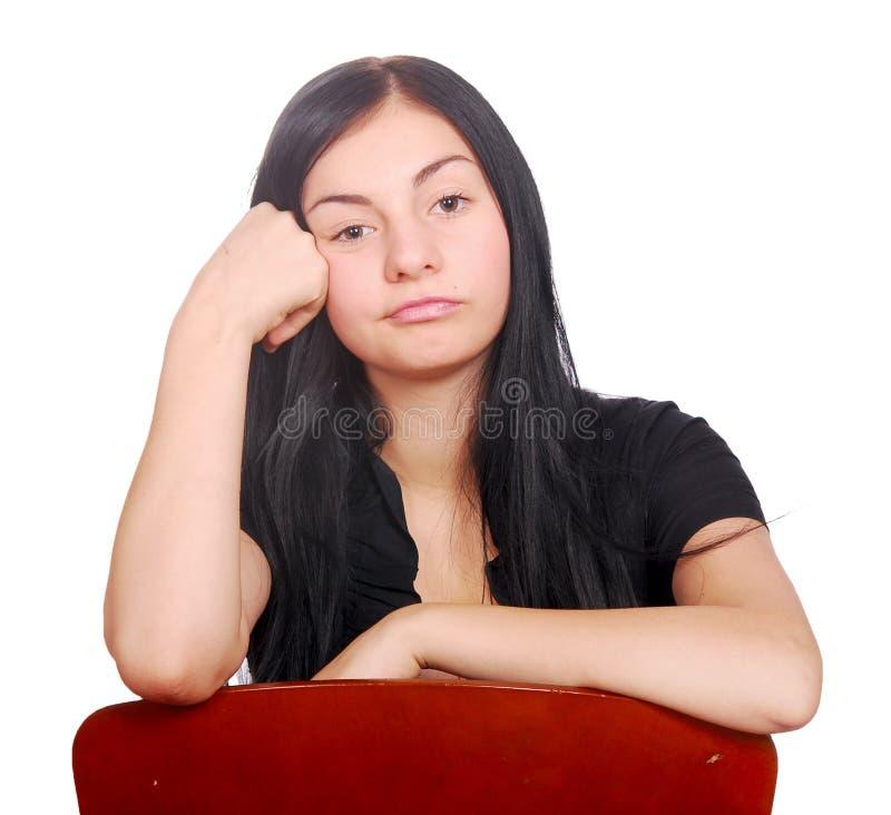 Download Sad teen stock photo. Image of caucasian, fashion, person - 17251016