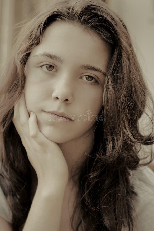 Download Sad teen girl stock image. Image of depressed, ache, dark - 12689231