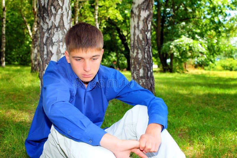 Download Sad Teenager stock image. Image of adult, alone, attitude - 27849717