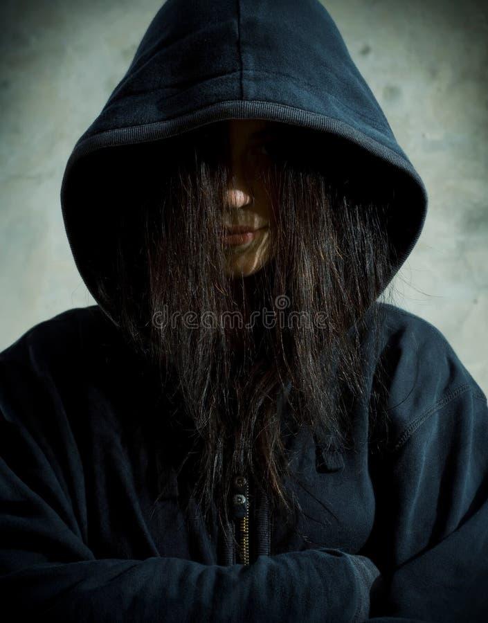 Download Sad teenager. stock photo. Image of teenager, caucasian - 6230884