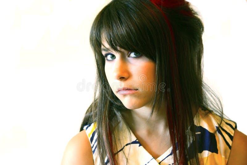 Sad teenager royalty free stock photos