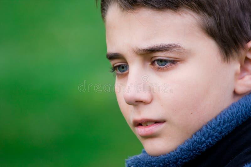Sad teenager royalty free stock image