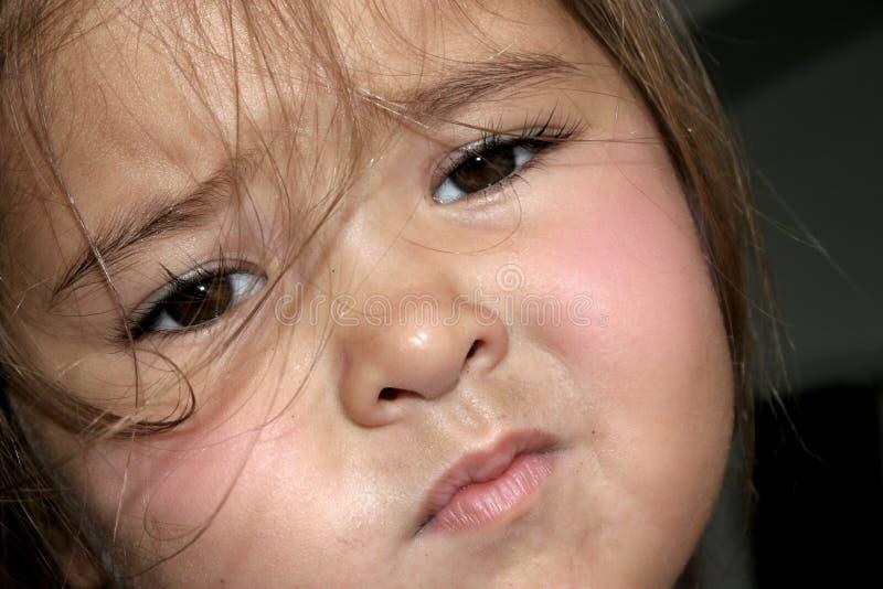 Sad Toddler stock photography