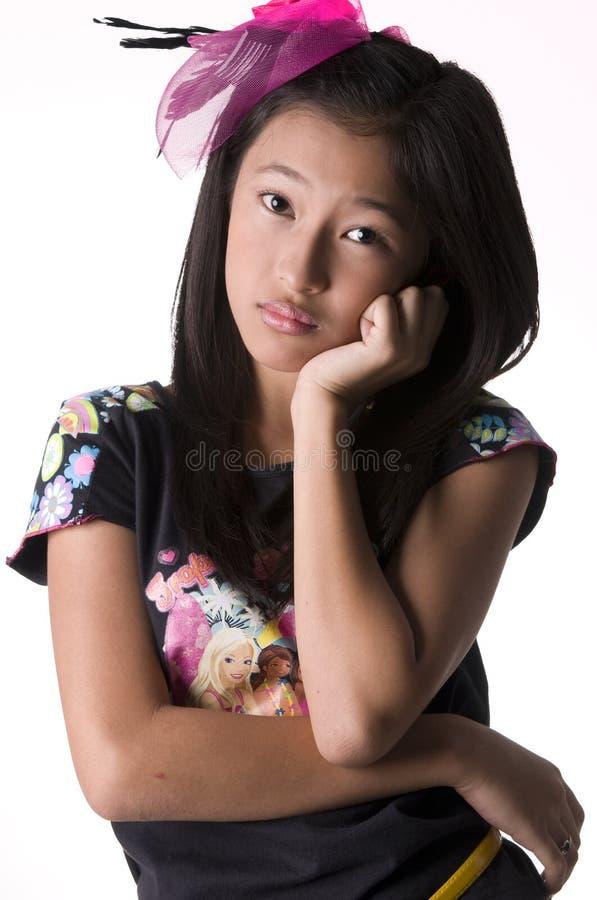 Download Sad woman stock image. Image of filipina, melancholy - 14347913