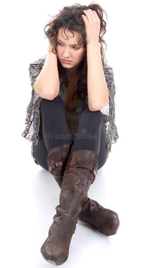 Free Sad Woman Royalty Free Stock Photo - 3916585