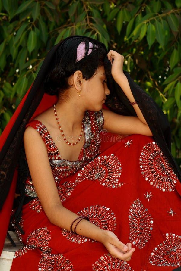 Download Sad young Asian girl stock image. Image of pretty, girl - 4800381
