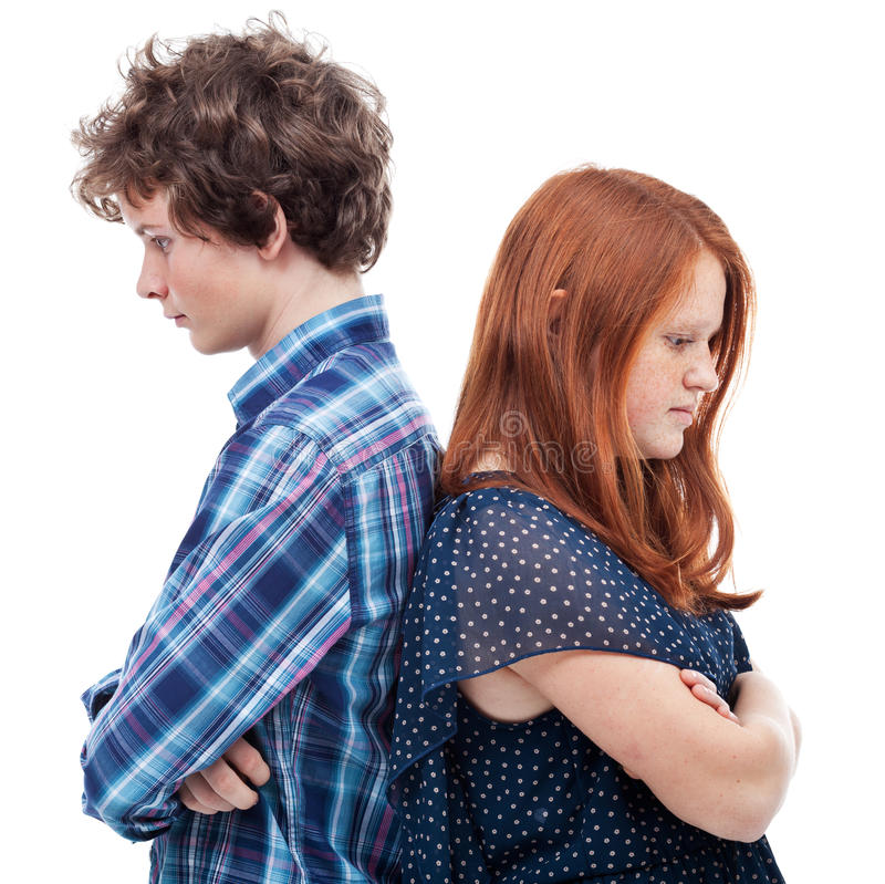 Free Sad Young Couple Stock Images - 39426864