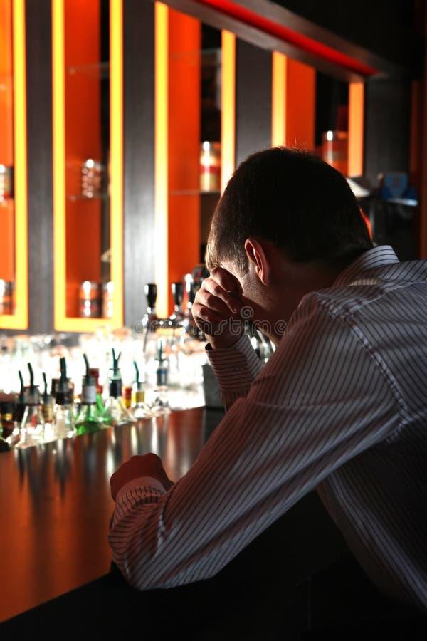 Download Sad Young Man At The Bar Stock Photo - Image: 29548210