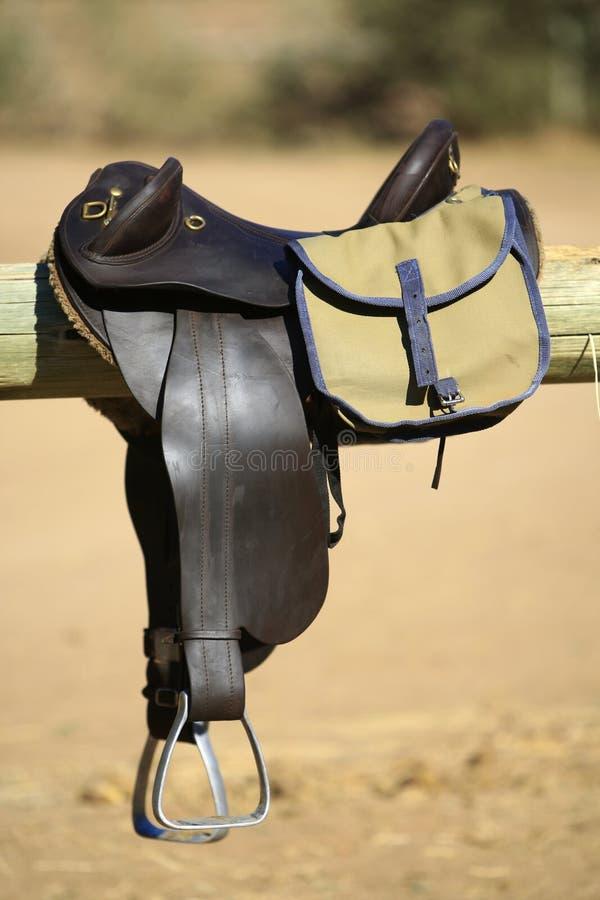 Saddle And Bag Stock Photos