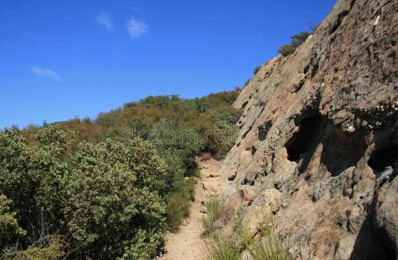 Download Saddle Peak Geology 2 stock photo. Image of green, landscape - 25997818