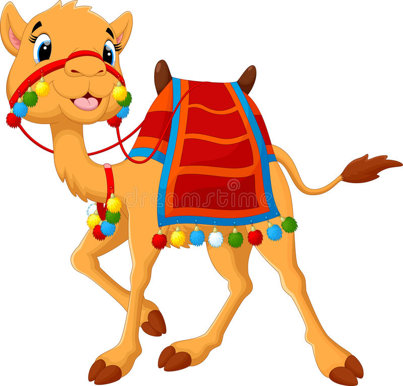 saddlery шаржа верблюда бесплатная иллюстрация